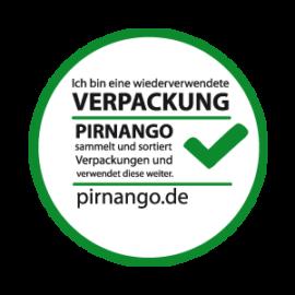 Wiederverwendete Verpackungen bei Pirnango